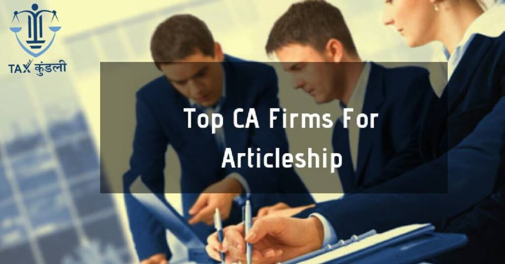CA Firm for articleship in Jaipur